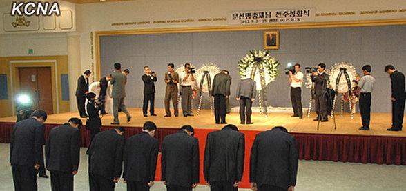 krans fra Kim Jong Un