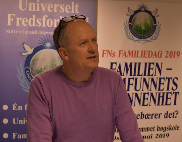 Jan Harsem former leader of the Nordic Network for Marriage